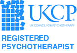 UKCP Logo Registered Psychotherapist Manchester City Centre Stockport Didsbury Chorlton Altrincham