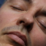 image man asleep closeup manchester counsellor